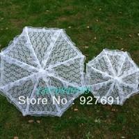 Hot-selling small size stage props umbrella High-grade lace wedding umbrella Cute children cartoon umbrella--Free shopping