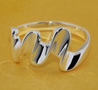 R201 Size:6,7,8,9 925 silver ring, 925 silver fashion jewelry ring fashion ring /biaajzhasq