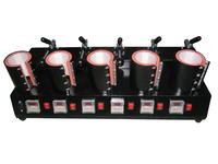 shipping free New Style 5 in 1 Mug Heat Press Machine, mug press