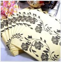 Elegant Printing Table Napkin Printed Napkin Party Napkin Colorful Napkins Printed Serviette ( 10 small bags)