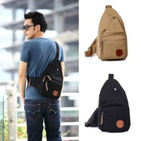 2013 HOT New Fashion sling backpacks for men Small canvas bag Single shoulder bag oblique satchel bags leisure fashion