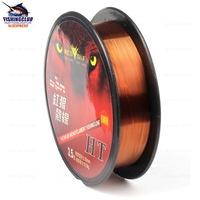 3PCS MIXED good quality Cheapest fishing line nylon line ,coffee color fishing rope 100m free shipping tackle tools FYX07 NEW