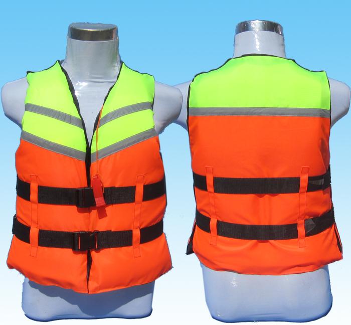 Professional adult foam life vest belt whistle vest(China (Mainland))