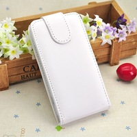 Fly IQ440 Energie PU Cases Protective Folding PC + PU Leather Flip Covers White Free Shipping Wholesale Price