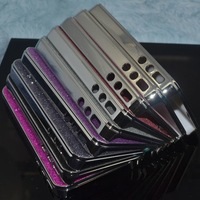 Perfect Design For Apple iPhone 4 4S 4G Bling Case, Plating Hard Shining Glitter Case Shell Cover 50pcs/Lot Free Shipping