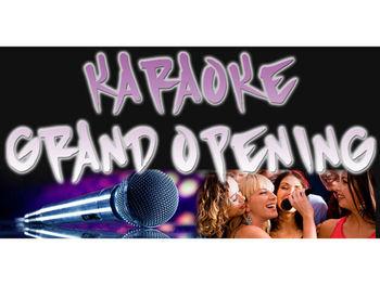 Bn1286 Karaoke Lounge Singing Entertainment Happy Hours Beer Microphone Song Pop Banner Sign