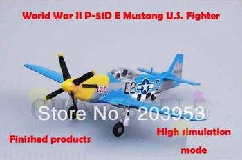USA  P51D E 1/72 finished world war II Mustang US piston propeller fighter model military aircraft model