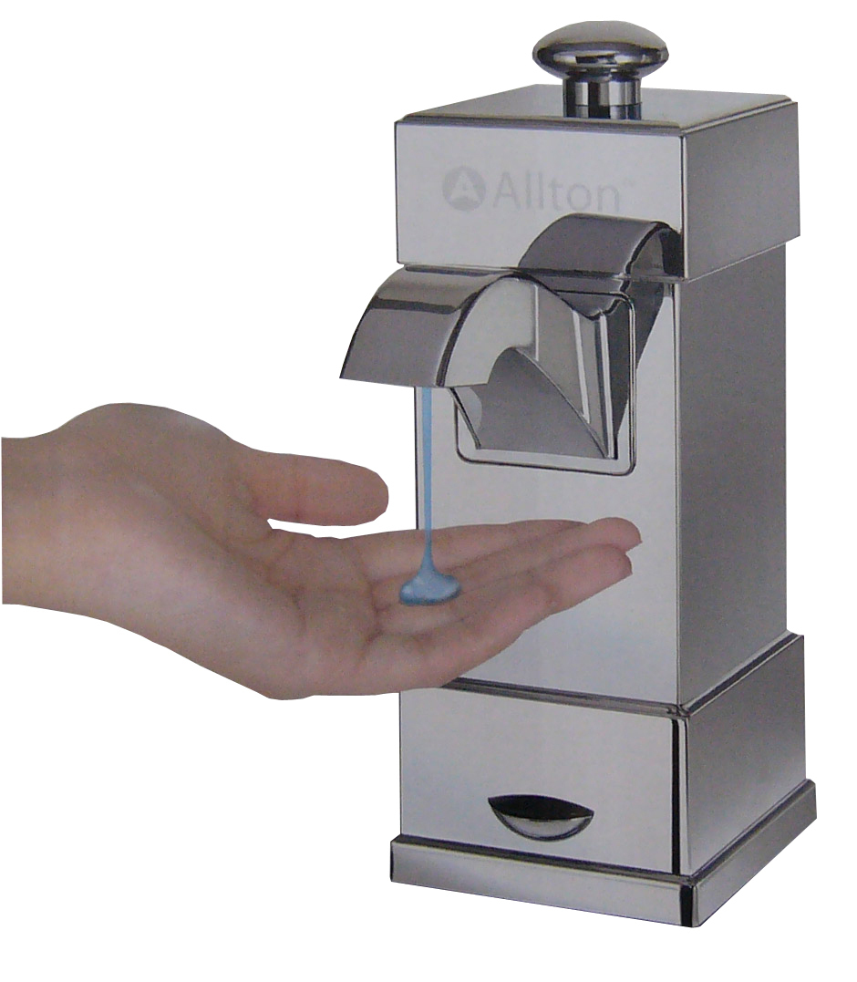 Microcomputer automatic sensor soap dispenser hand sanitizer bath liquid soap dispenser soap dispenser(China (Mainland))