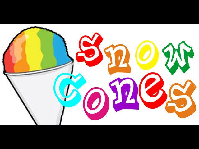 Snow Cone Banner Bn1291 rainbow snow cones summer dessert cool hawiian ... Rainbow Rose Drawing