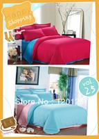 PROMOTION 1200TC reversible Printing Bed Sheets 4pcs Bedding Set duvet cover set For RetaIL 005 bl003-      bl001