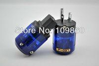 Oyaide P-037 Rhodium-plated US AC Power Plug & C-037 IEC Connector 1pair