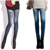 2013 Fashion  Lady's  Casual Stretch Skinny Pants Jean Legging WZ-72
