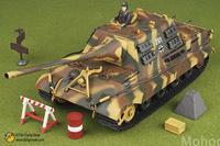 free shipping ! FOV 80078 1:32 WWII German Jagdtiger heavy tank  Alloy Military Model