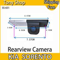 Special Originated Car Rearview Camera for Kia Sorento with 170 degree Waterproof Lens and 1/4 CMOS Sensor