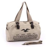 Hot male women's canvas bag portable shoulder cross-body bag outdoor travel sports bag