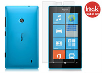 IMAK High Transparent  LCD Screen Protector Protective Film For Nokia Lumia 520 with Retail Package