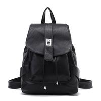 2012 spring women's backpack school bag travel bag PU women's handbag 6955