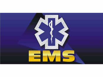 Bn0106 Ems Emergency Medical Service Professional Fast Banner Focus Banner Sign