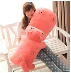 110cm Big Giant Hippos Cartoon Animal Soft & Stuffed Plush Toys Doll Pillow Cushion Christmas Birthday Gifts(China (Mainland))