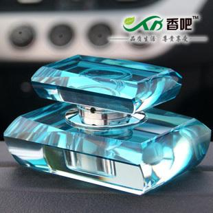 Quality crystal crafts car perfume seat flowers and fruits perfume car accessories(China (Mainland))