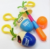 New Arrival  Stationery Egg Retractable Pen Birthday Gift   Free Shipping/Dropshipping