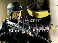 Daisy C3 4 lenses Desert Storm SunGlasses Goggles Tactical Riding eyewear UV400 Glasses free shipping