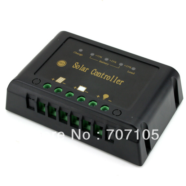 5A Solar Charge Controller Panel Regulator 12V/24V(China (Mainland))
