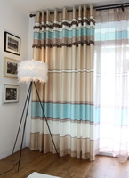 freeshipping Emigres quality brief fashion rustic curtain finished product