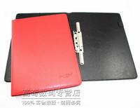 A4 leather folder contract folder conference folders arbiters clip manager folder