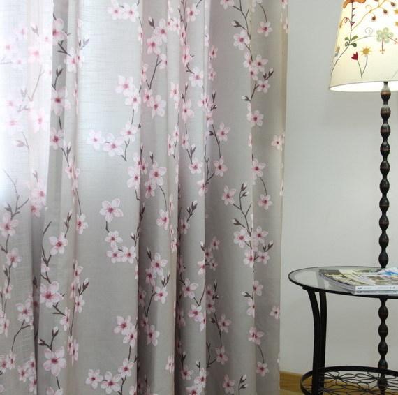 ... Cherry Blossom Curtains ...