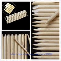 wholesale dotting pen Salon Manicure orange Wood Sticks 11.5CM Nail Art Cuticle Pusher polish Remover 1000pcs/lot free shipping