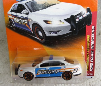 FREE SHIPPING Matchbox alloy car model FORD ford police vehicle interceptor 11 - 49