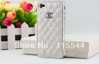 Cheapest Luxury Bling With Leather Case Cover For Apple iPhone 4 4G 4S beautiful!