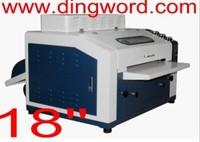 New Desktop UV Coating Machine 18inch UV Varnishing machine Coater