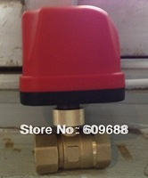 "DN25 1"" CWX Motorized Electric Ball Valve,CR02 AC220V"
