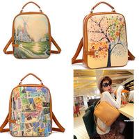 2014 New Korean Fruit Color Fashion Bag, pack bag for Students, Shoulder Bag Wholesale Free Shipping