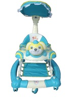 Baby walker music dish folding dish multifunctional walker