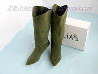 botas women spiked high heel boots winter women's winter boots 2013 boots women genuine leather mujeres feminina