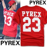 Pyrex Vision 2013 Breathable Cotton Round Neck Short Sleeve Printing Men T Shirts NSTX-02