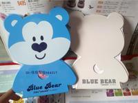Lackadaisical bookend 95423 bear metal bookend cartoon bookend bookend 6.5