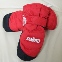 Free shipping Reima child ski gloves windproof thermal gloves windproof short design