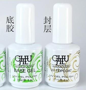 chujie 15ml  soles soak off UV gel polish  basegel
