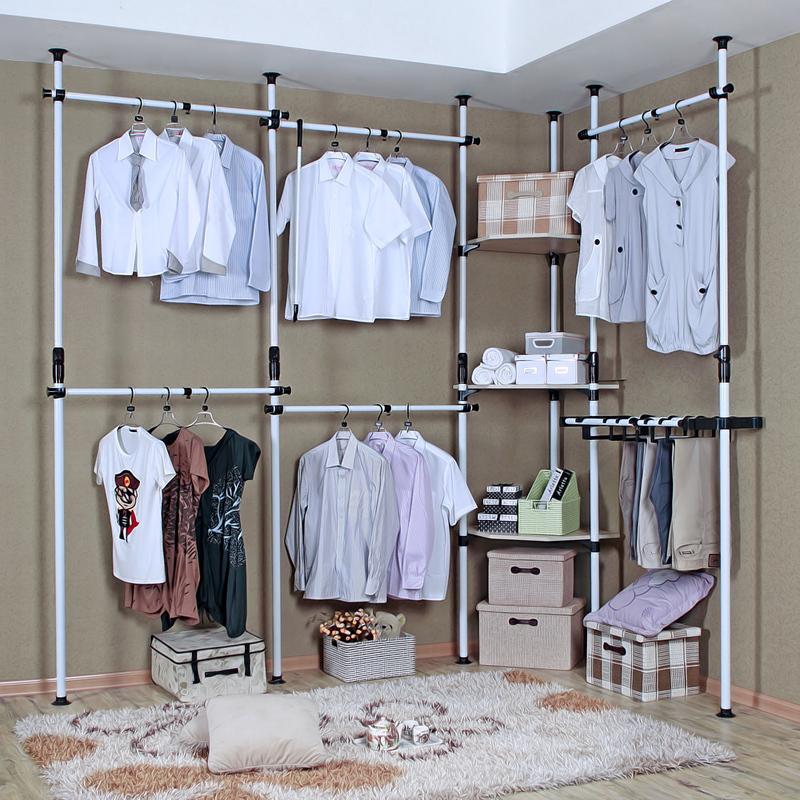 Simple hanger combination wardrobe simple wardrobe clothes storage cabinet large font b folding b font font