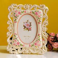 Royal fashion photo frame wedding dress 6 photo frame gorgeous cutout birthday gift