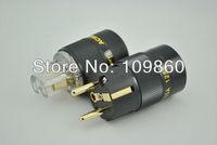 Acrolink FP-02Eu  gold plated EUR AC Power plug  & FC-15 IEC  power plug 15A  Power adapter