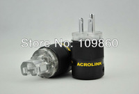 Acrolink FP-12 Rhodium plated US AC Power plug  & FC-12  IEC  power plug 15A  Power adapter