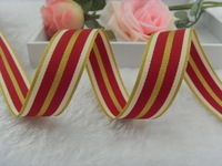 Free Shipping 22mm Grosgrain Stripe Ribbon Wholesale DIY Hairbow Accessories 33yard/lot
