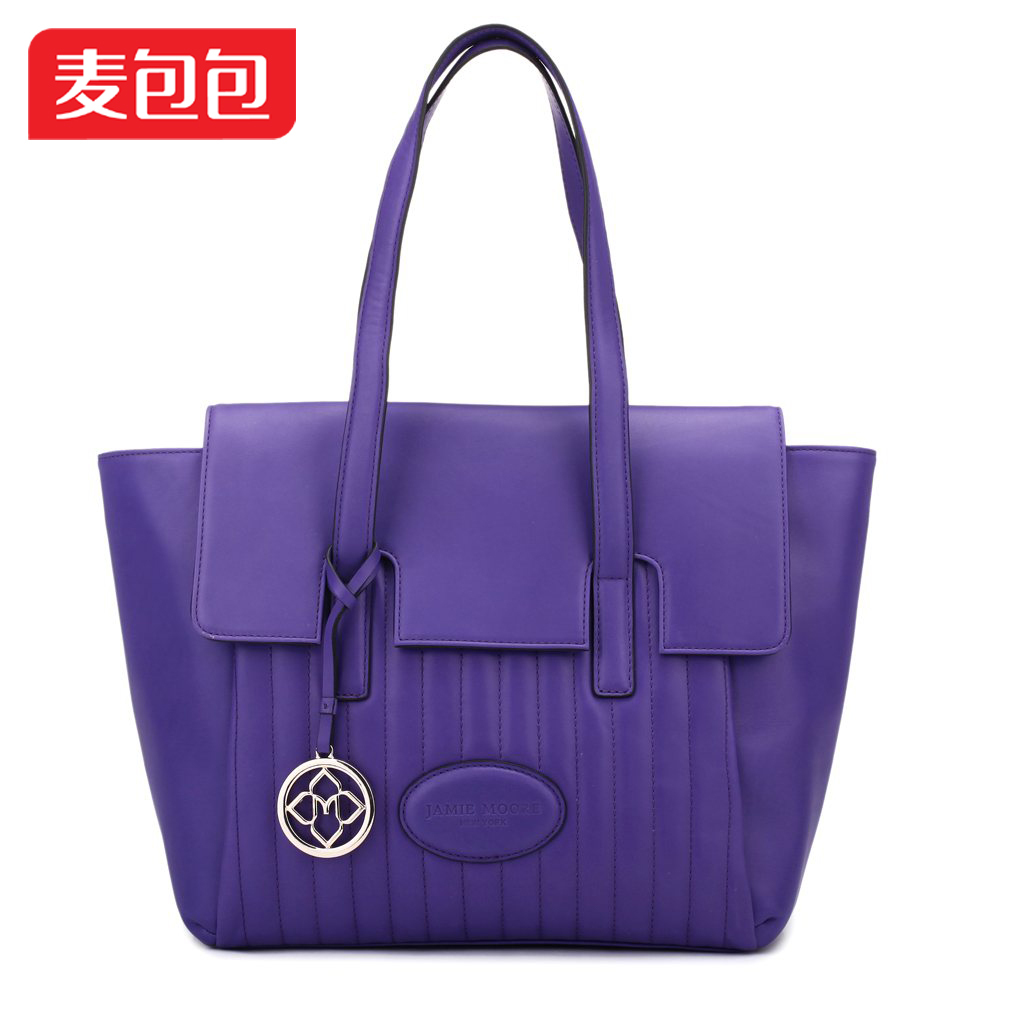 Jamie moore 2013 spring fashion autumn and winter fashion elegant sewing thread one shoulder women bag(China (Mainland))