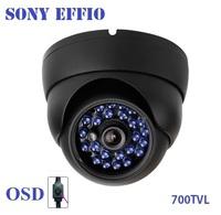 New!700TVL Effio vandalproof Sony CCTV camera lens Outdoor Dome camera 3.6mm lens IR Camera,+ Free shipment