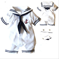 new 2013,summer clothing,newborn,baby boy clothes,navy style clothing,baby boy romper,baby overall,bebe,baby bodysuit